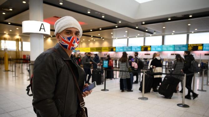 Великобритания забрани влизането в страната на пътници от Южна Америка и Португалия