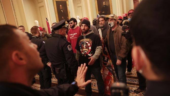 Голяма сума в биткойни е била преведена на крайнодесни активисти преди атаката в Капитолия