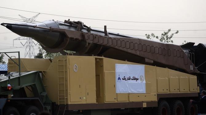 Иран проведе учение с балистични ракети  и дронове