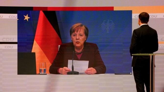 Меркел откри конгреса на партията си ХДС с призив за единство