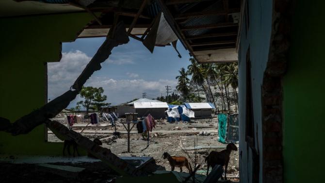 Нов трус в Индонезия, издирват десетки изчезнали хора