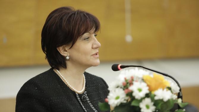 Цвета Караянчева присъства на тържественото честване на 143-ата годишнина от избора на първия Градски съвет на Карлово