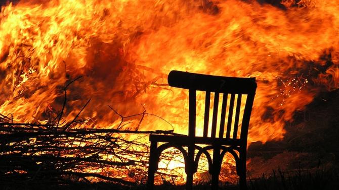 Мъж е загинал при пожар в бобовдолското с.Паничарево
