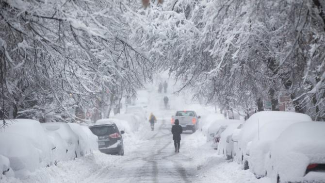 Обилен снеговалеж остави без ток хиляди домакинства в Елзас