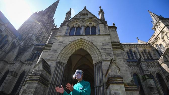 Известната катедрала се превърна в център за ваксинации