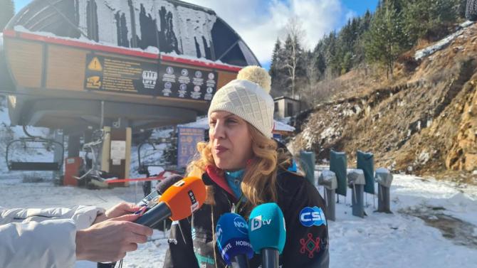 Марияна Николова в Пампорово: Очакваме по-малък спад на туристите за зимния сезон в курорта