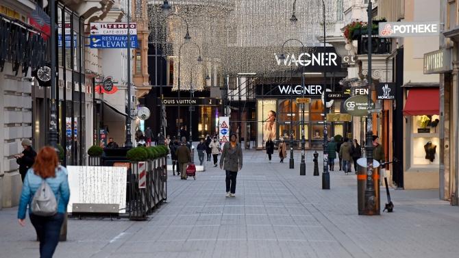 Австрийските власти удължиха за трети път пълното затваряне (локдаун) на