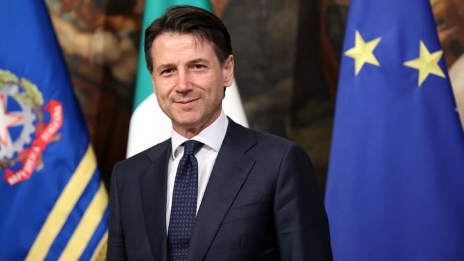 Джузепе Конте пред вот на доверие в долната камара на парламента
