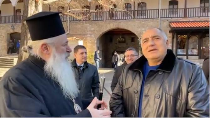Борисов в Бачковския манастир: Чувствам се добре, като видя какво сме направили