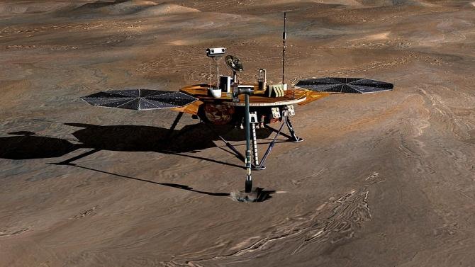 """""""Кюриосити"""" навъртя 3000 марсиански дни на Червената планета"""