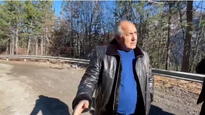 Борисов: Разширяваме 20 км от трасето на пътя Юговско ханче – Лъки