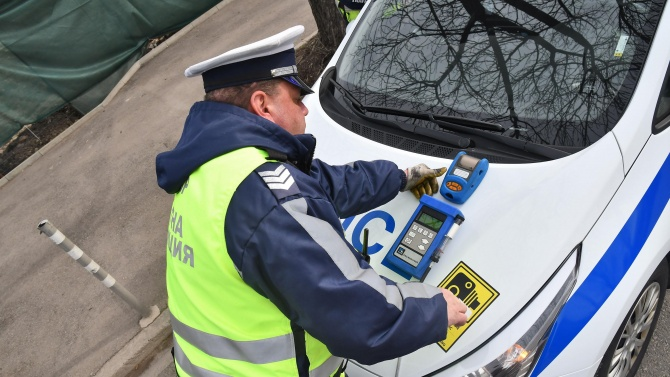 Заловиха дрогирани шофьори в Сливен