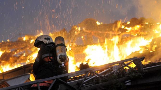Труп след пожар в Априлово
