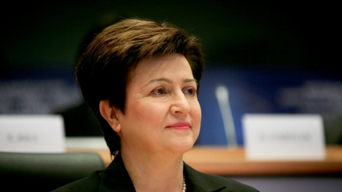 Кристалина Георгиева: Глобалната икономическа перспектива е много несигурна