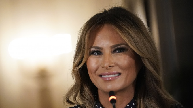 Мелания Тръмп: Да бъда първата дама на САЩ бе най-голямата чест в живота ми