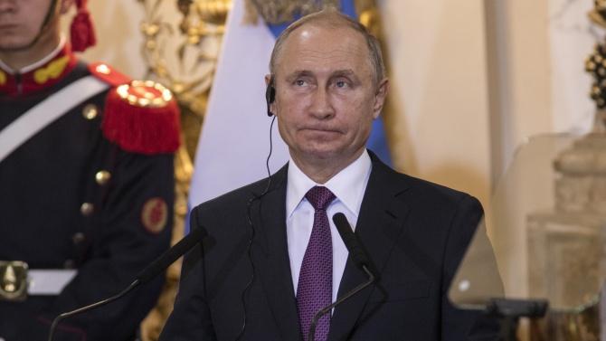 Кремъл: Владимир Путин не се страхува от никого