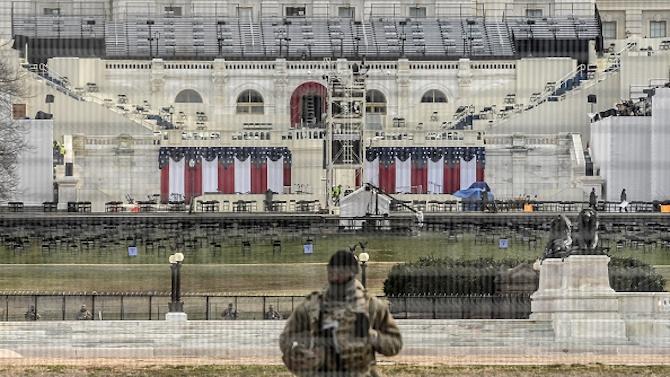Вашингтон е парализиран от безпрецедентни мерки за сигурност
