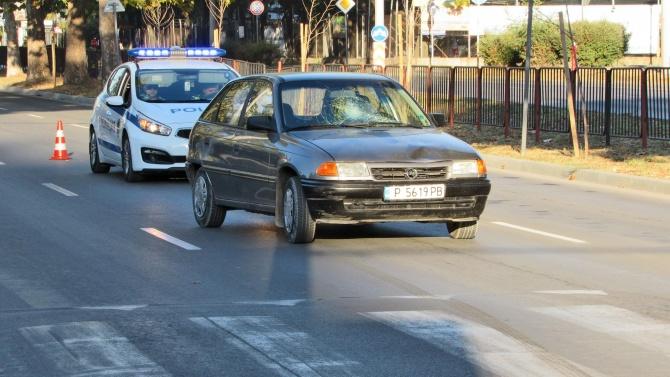 Блъснаха жена и 2-годишно дете на пешеходна пътека в София