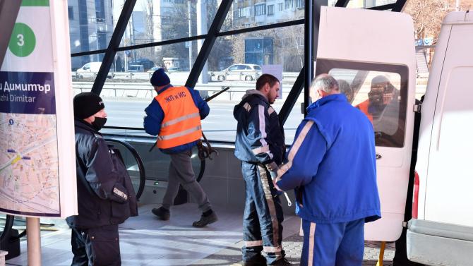 Започва ремонт по третият лъч на метрото