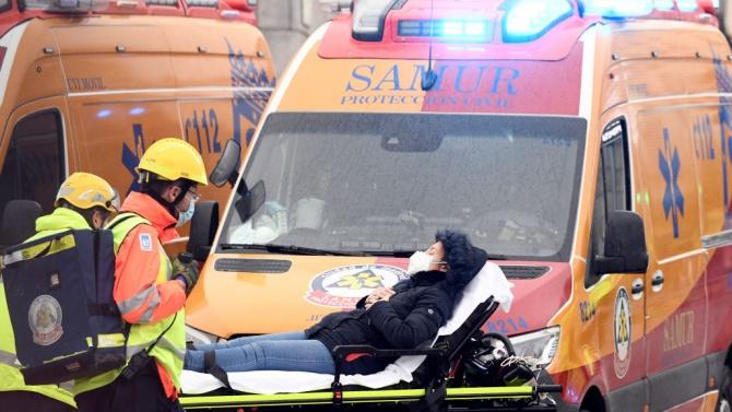 МВнР: Няма данни за пострадали български граждани при експлозията в центъра на Мадрид