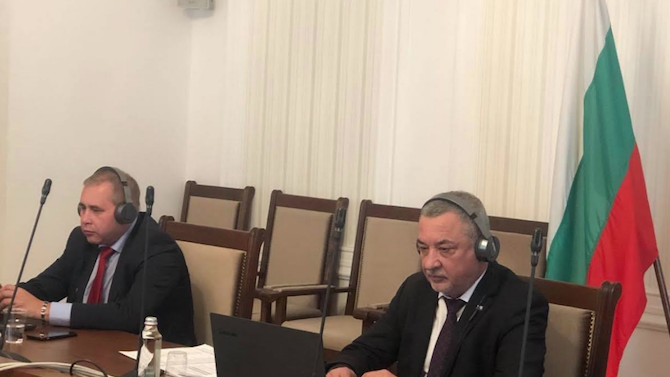 Депутати от Украйна към Валери Симеонов: Българската общност е много благодарна за подкрепата на България