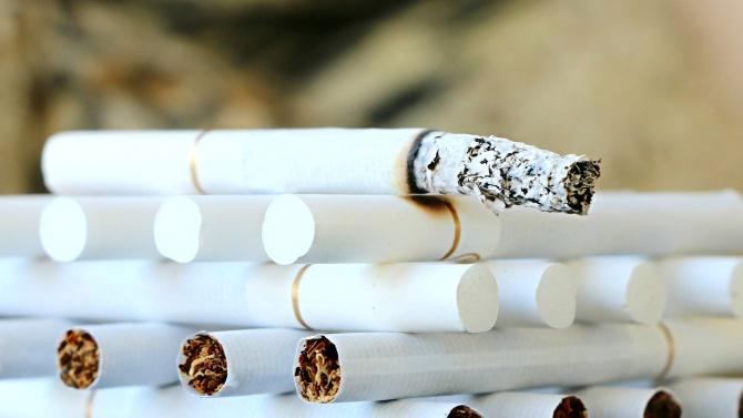 Спипаха голямо количество нелегални цигари