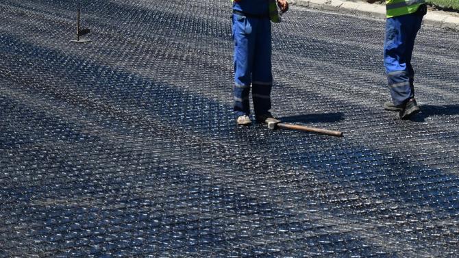 В Русе ремонтират международен булевард, водещ до Дунав мост