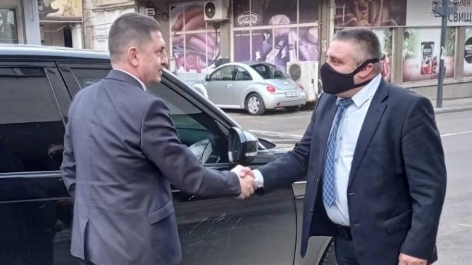 Христо Терзийски посети районното и граничното полицейски управления в Свищов