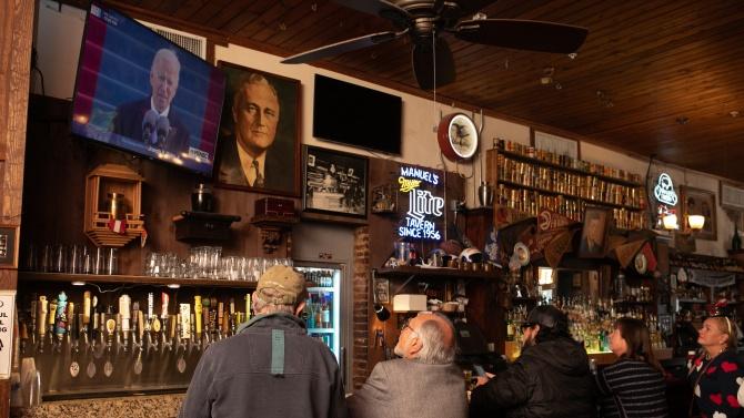 Инаугурацията на Байдън е била по-гледана по телевизията от тази на Тръмп
