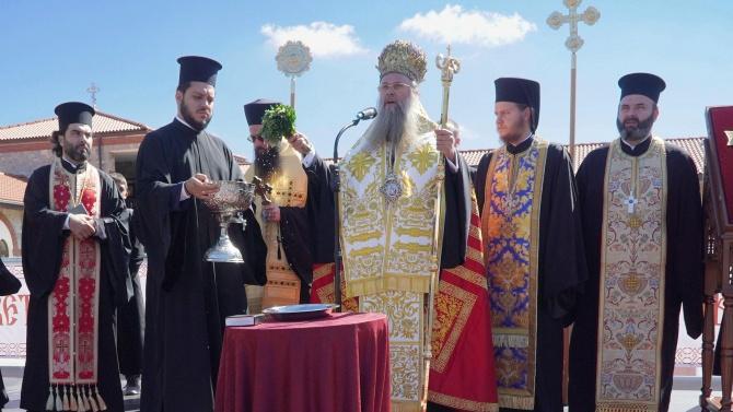 """Митрополит Николай ще отслужи литургия в храма """"Света Блажена Ксения"""" край Смолян"""