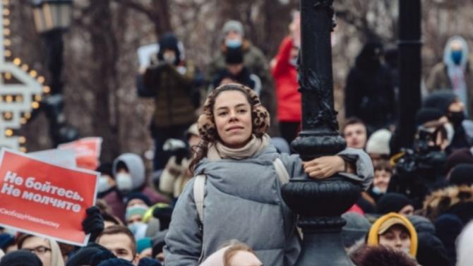 Полицията в Москва освободи всички непълнолетни от протеста