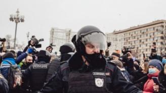 САЩ осъдиха арестите на протестиращи и журналисти в Русия