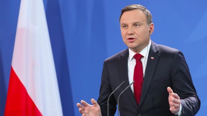 Полският президент призова ЕС да засили санкциите срещу Русия заради Навални