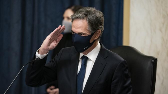 Комисията по външни работи към Сената одобри Антъни Блинкън за държавен секретар на САЩ