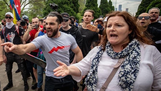 Протести и арести белязаха националния празник на Австралия