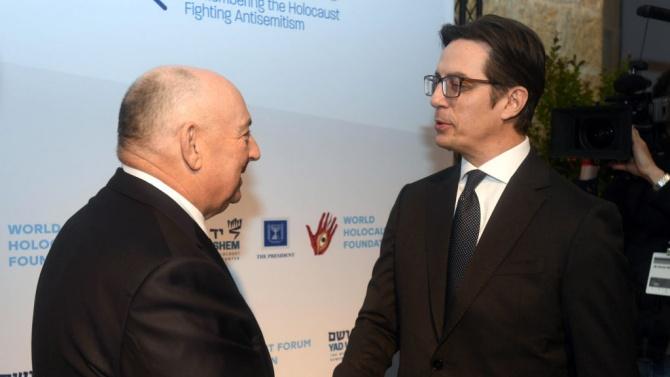 """Пендаровски се надява на """"подкрепление"""" от Брюксел в казуса с България"""