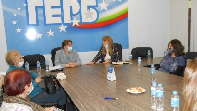Сачева обсъди изборите с общинските ръководители на ГЕРБ-Добрич