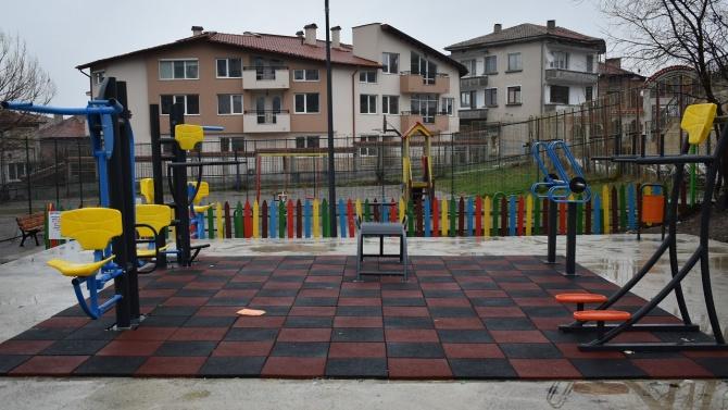 Асеновград вече разполага с чисто нов фитнес на открито