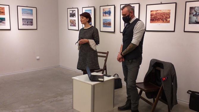 Десислава Атанасова и Калин Вельов се срещнаха с културните дейци от Разград