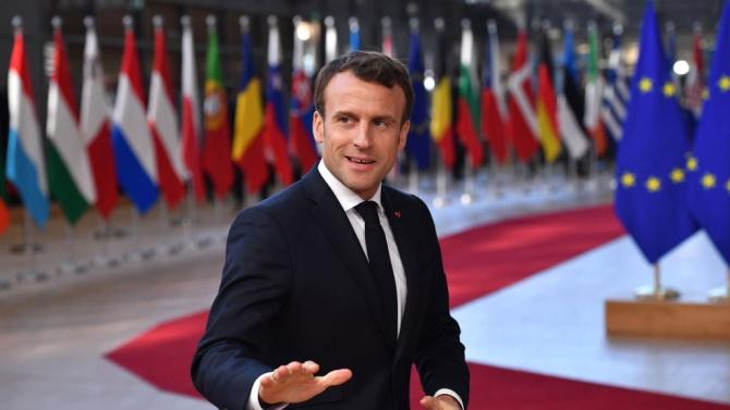 Макрон: В Парижкото споразумение за климата не може да има използвачи