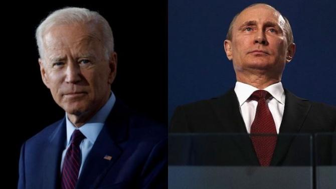 Байдънразговаря по телефона с Путин за пръв път, откакто пое властта