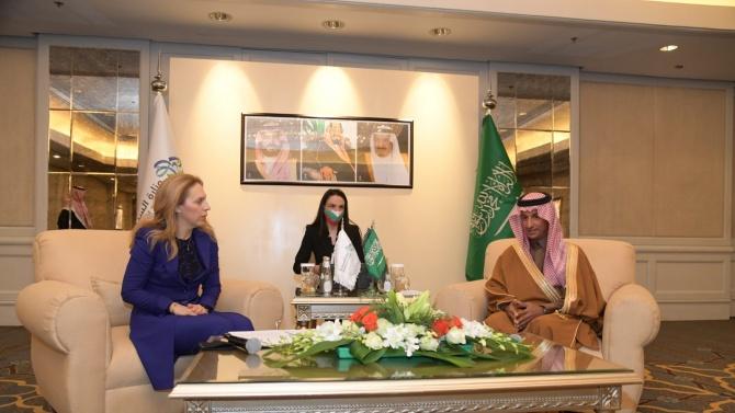 Министърът на туризма Марияна Николова проведе работна среща с колегата си Ахмед Ал Хатиб