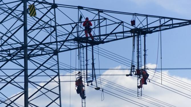 39 села в Хасковска област са без електричество заради падналия