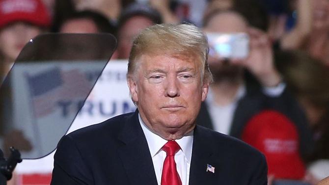 Четиридесет и петият президент на САЩ Доналд Тръмп Доналд Тръмп