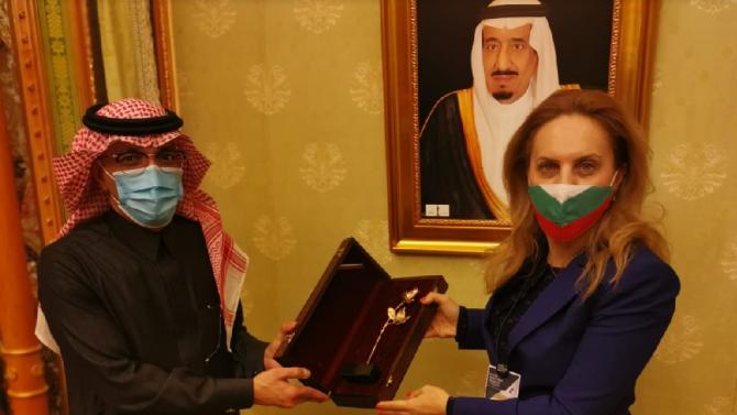 Марияна Николова към Мохамед Ал Джадаан: Имаме добри търговско-икономически отношения, износът ни отчита ръст през 2019 година