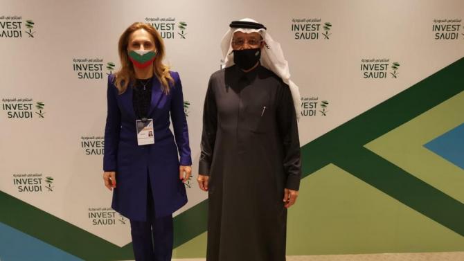 Марияна Николова пред Кхалид Ал Фалех:  Интензивният политически диалог ще донесе ползи и за двете икономики