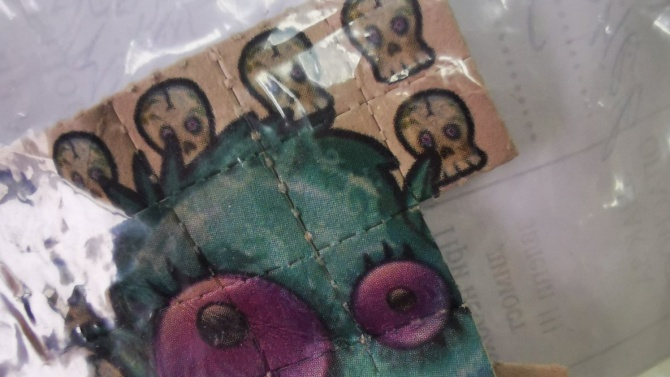 Карловски дилър скри LSD в пъзел