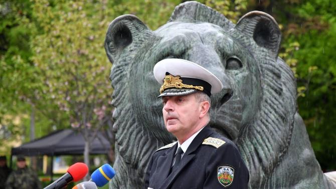 Началникът на отбраната адмирал Емил Ефтимов участва в заседанието на