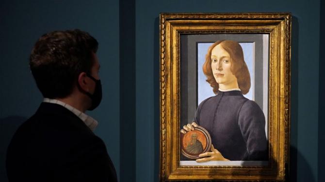Картина на Ботичели беше продадена за 92,2 милиона долара на търг