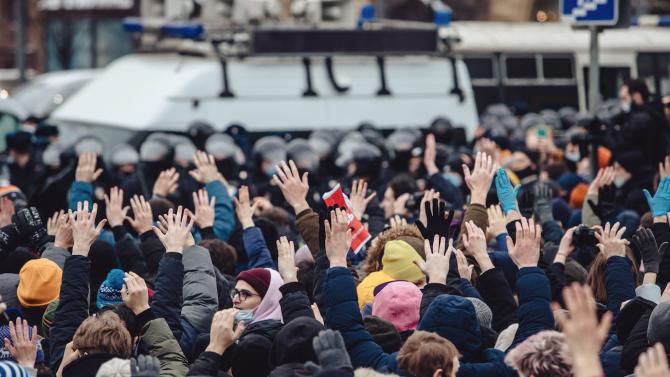 Руските власти се подготвят за нови масови протести в подкрепа на задържания опозиционен лидер Алексей Навални